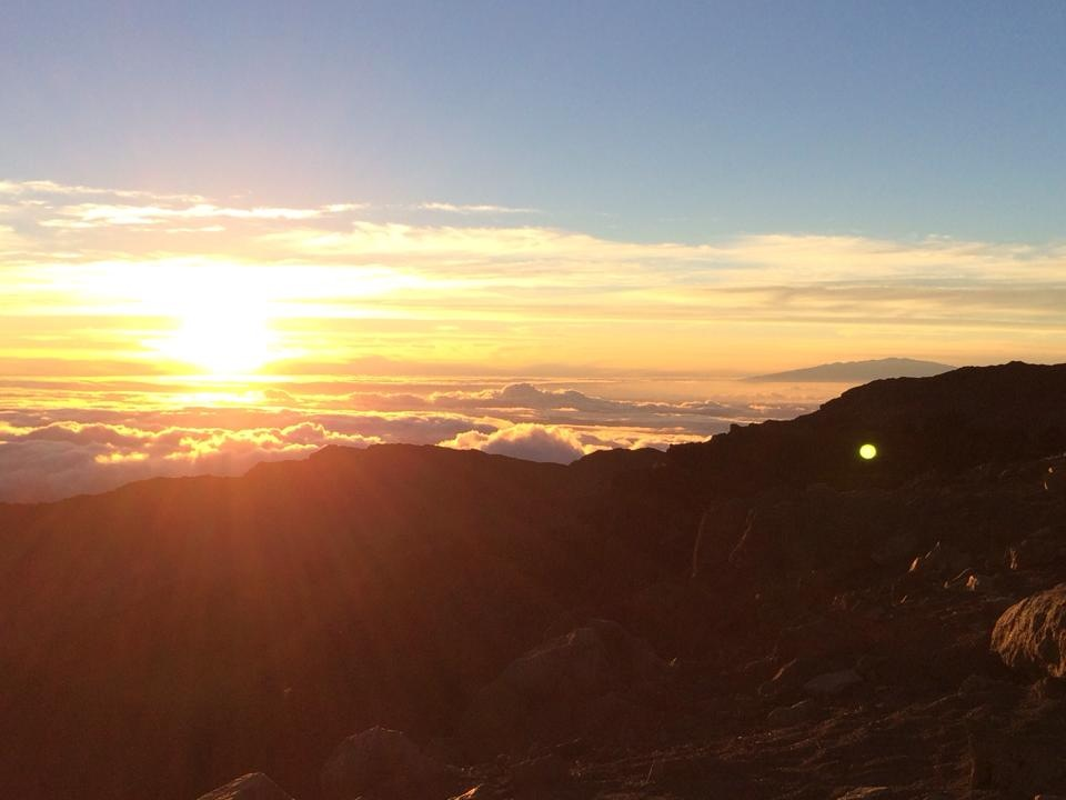haleakala sunrise blog pic