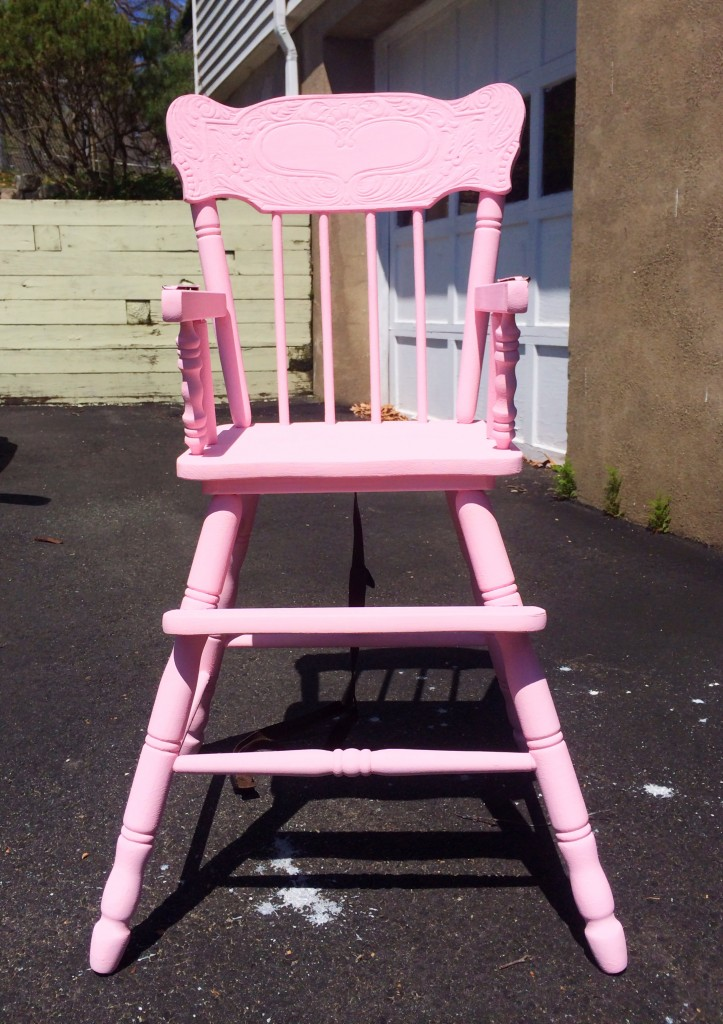 high chair complete