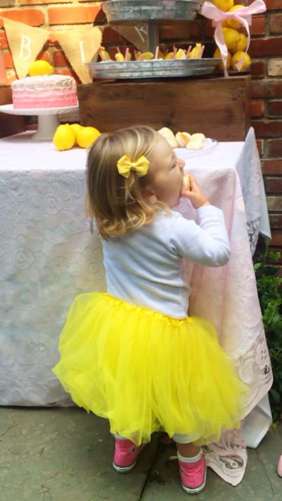 yellow tutu cookie blog pic