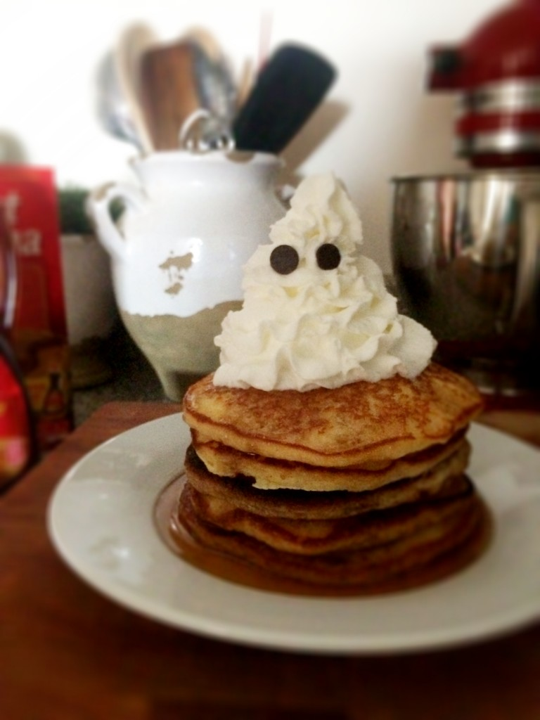 flash ghost pancakes