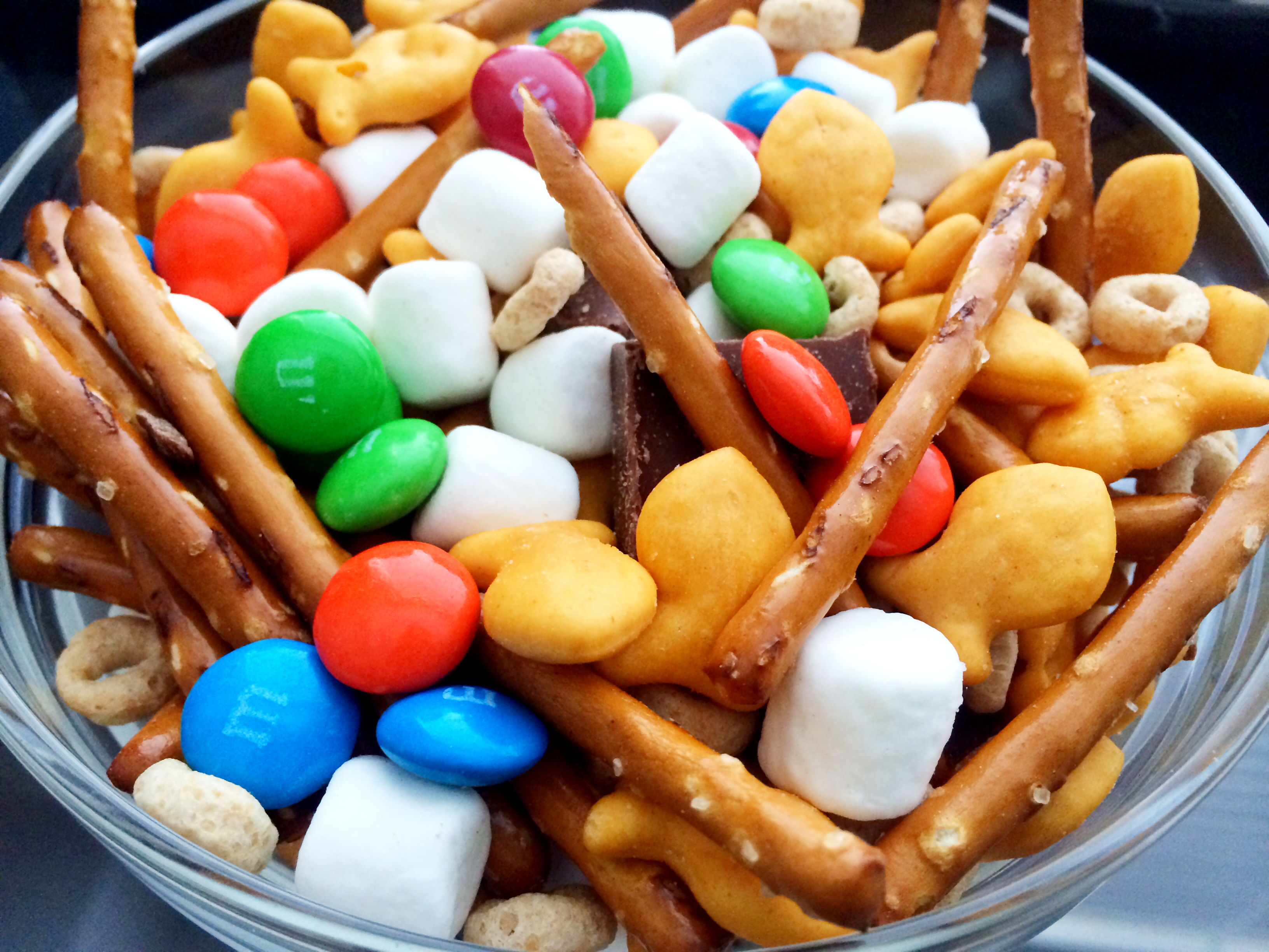 Something For Saturday: Leftover Halloween Candy Trail Mix ...