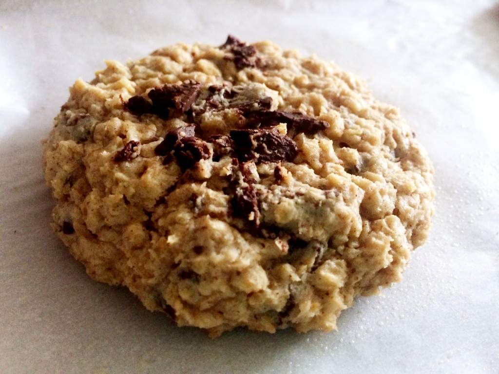 oatmeal choc chunk cookie 1
