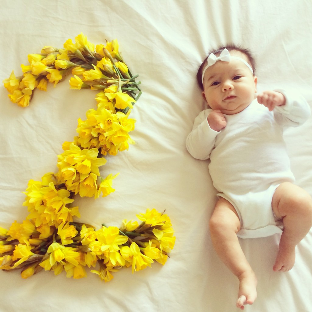 happy 2 months reese evelyn 2