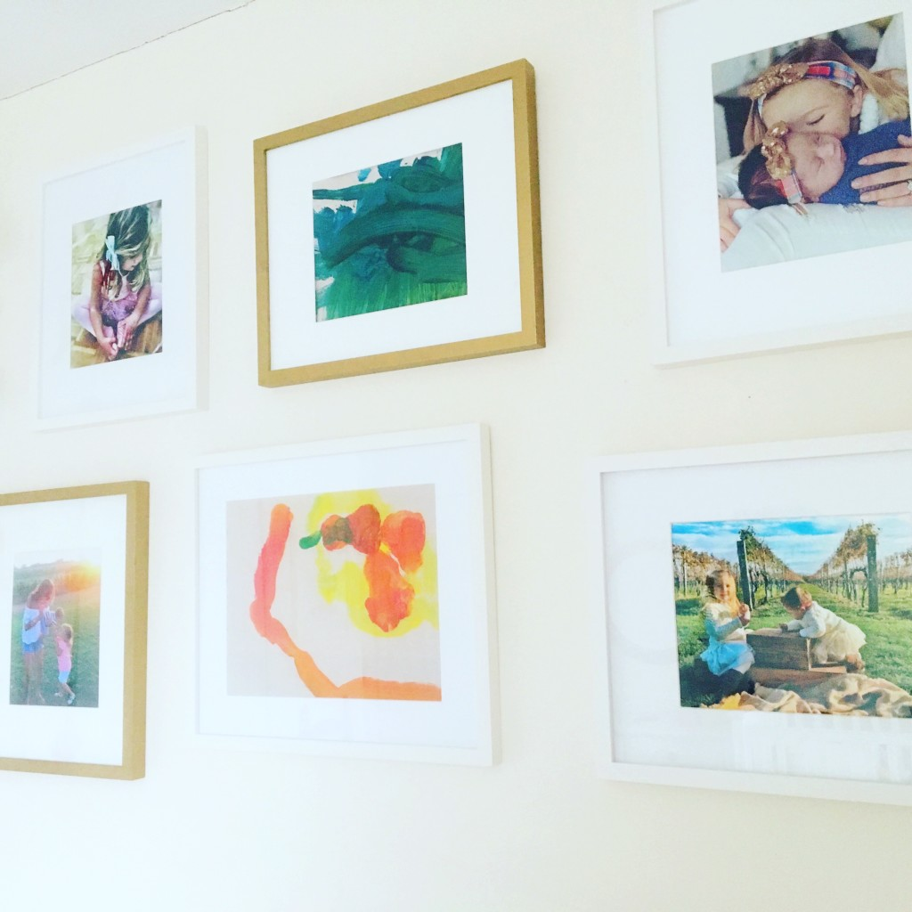 kids room gallery wall 5